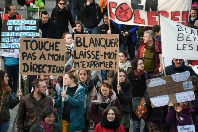 manifestants-contre-Blanquer-19-2019-Strasbourg_0_729_486